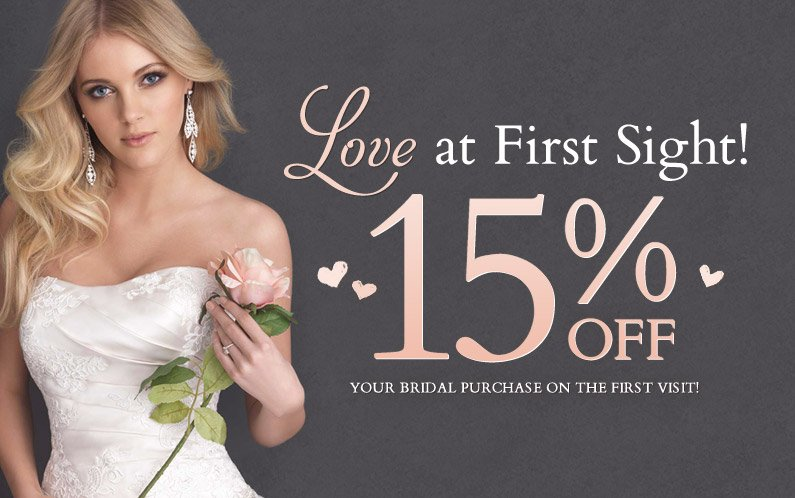 Love At First Sight! All Of April Receive 15% Off