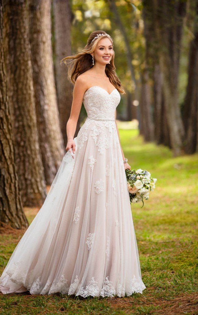 A more soft, romantic gown, Stella York 6466