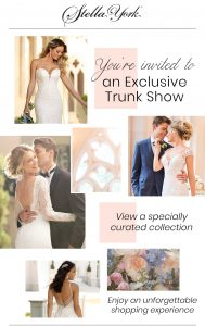 Stella-York-Trunk-Show-Le Bella-Donna-Bridal-Jenkintown-PA